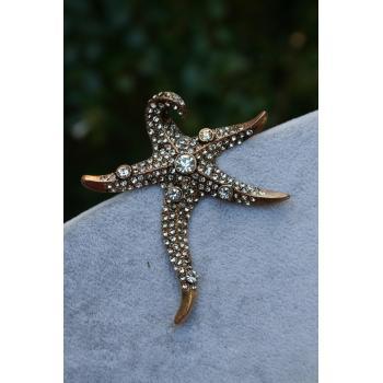 STONEAGE Deniz Yıldızı Lüks Broş