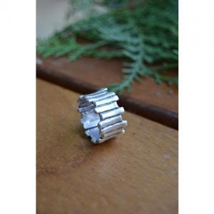 STONEAGE Antik Gümüş Ayarlanabilir Unisex Bohem Yüzük