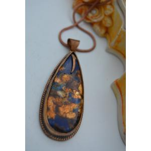 STONEAGE JEWELLERY Opal Taşlı El Yapımı Bayan Kolye